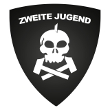 Zweite Jugend - Aufkleber Wappen